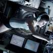 "This publicity photo released by Warner Bros. Pictures shows Sandra Bullock, left, as Dr. Ryan Stone in Â""Gravity."" (AP Photo/Courtesy Warner Bros. Pictures)"