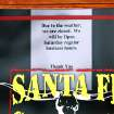 Many businesses either closed or  opened for reduced hours during this week's winter storm. This sign was taped to the front door of the Santa Fe Cattle Co. restaurant on SE 29 in Midwest City, Friday afternoon, Jan. 29, 2010. Photo by Jim Beckel, The Oklahoman