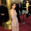 Kate Mara arrives before the 84th Academy Awards on Sunday, Feb. 26, 2012, in the Hollywood section of Los Angeles. (AP Photo/Chris Pizzello) ORG XMIT: OSC205