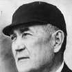 FILE - This 1935 file photo shows Major League Baseball umpire Hank O'Day, in Chicago. Former New York Yankees owner Jacob Ruppert, O'Day and barehanded catcher Deacon White were elected to the Hall of Fame on Monday, Dec. 3, 2012, for their excellence through the first half of the 20th century. (AP Photo/File)