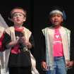 Alex Kerley and Malina Anderson, Kindergarten students at Oklahoma Christian Academy, participated in the Thanksgiving play which reminded us all of our many blessings.  Community Photo By:  Nyla Hackett  Submitted By:  Nyla, Edmond