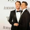 Neil Patrick Harris, left, and David Burtka arrive at the 68th annual Tony Awards at Radio City Music Hall on Sunday, June 8, 2014, in New York. (Photo by Charles Sykes/Invision/AP)