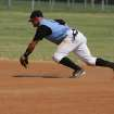 John Whitaker tracks down a ball. OKC Adult Baseball.  Community Photo By:  Dean Humphrey  Submitted By:  ryan,