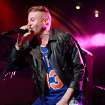 FILE - This May 20, 2013 file photo released by Bacardi shows Ben Haggerty, better known as Macklemore of Macklemore and Ryan Lewis performing during the Rolling Stone hosted Bacardi Rebels Concert Event on Cuban Independence Day in New York.   Macklemore and Ryan Lewis'