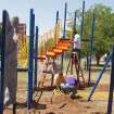 Volunteers put together a playground at Linwood Elementary.  Community Photo By:  Terri Ward  Submitted By:  Nancy, Oklahoma City