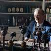 FILE - This undated publicity film image released by Focus Features shows Bill Murray as Franklin D. Roosevelt in a scene from