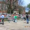 Genocide Awareness Project in front of the Bizzel Memorial Library at OU.  Community Photo By:  Kayla R. Hembree  Submitted By:  Brenda,