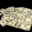 MONEY / ONE HUNDRED DOLLAR BILLS: Photo illustration on the Oklahoma City Thunder's salary cap in Oklahoma City, Oklahoma February 5 , 2009.  BY STEVE GOOCH, THE  OKLAHOMAN. ORG XMIT: KOD