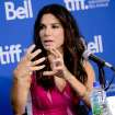 "Actress Sandra Bullock attends the press conference for ""Gravity"" on day 5 of the 2013 Toronto International Film Festival at the TIFF Bell Lightbox on Monday, Sept. 9, 2013 in Toronto. (Photo by Evan Agostini/Invision/AP) ORG XMIT: TOEA110"