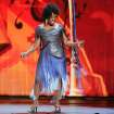 Gladys Knight performs on stage at the 68th annual Tony Awards at Radio City Music Hall on Sunday, June 8, 2014, in New York. (Photo by Evan Agostini/Invision/AP)