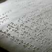 Braille from the pages of The McDuffy Reader A Braille Primer for Adults at NewView Oklahoma in Oklahoma City on Jan. 5, 2010. By John Clanton, The Oklahoman ORG XMIT: KOD