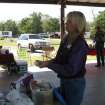 OETRA President Teri Wyatt demonstrates what should be in your trail riding first aid kit during last year's Horse Camping 101 Clinic. (Photo provided)