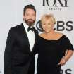 Hugh Jackman, left, and Deborra-Lee Furness arrive at the 68th annual Tony Awards at Radio City Music Hall on Sunday, June 8, 2014, in New York. (Photo by Charles Sykes/Invision/AP)