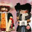 This Nov. 11, 2012 photo shows a variety of Nutcracker dolls at The Whitney Shop In New Canaan, Conn. The wooden dolls, many of which will really crack your walnuts and macadamias, are increasingly popular in holiday decor. The classic Nutcracker nutcracker, a soldier with his sword in hand and prominent moustache, comes from the early 19th-century tale
