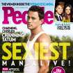 This magazine cover image released Wednesday, Nov. 14, 2012, by People shows actor Channing Tatum on the cover of People's Sexiest Man Alive special double issue. (AP Photo/People)