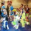 POWWOW: Three young students dancing at last year's pow-wow. The Oklahoma City Public Schools Native American Students pow-wow Nov. 21 at John Marshall HS. ORG XMIT: KOD
