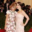 Anna Wintour, left, and Bee Shaffer attend The Metropolitan Museum of Art's Costume Institute benefit celebrating
