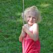 My niece, Emma, enjoys swinging on the tire swing in my backyard.  Community Photo By:  Cindi Tennison  Submitted By:  Cindi , Bethany