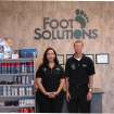 Melody and Kevin Jaeger inside their new store Foot Solutions located across from Quail Springs Mall.  Community Photo By:  Nolan Jaeger  Submitted By:  Diana, Oklahoma City
