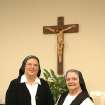 Sr. Veronica Sokolosky (right) and Sr. Julia Marie Roy (left) will celebrate the anniversary of their profession of vows on Saturday in Tulsa.  Community Photo By:  Br. George Hubl/St. Gregory's University  Submitted By:  St. Gregory's,