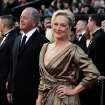 Meryl Streep arrives before the 84th Academy Awards on Sunday, Feb. 26, 2012, in the Hollywood section of Los Angeles. (AP Photo/Matt Sayles) ORG XMIT: OSC302