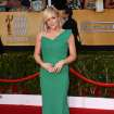 Jane Krakowski arrives at the 20th annual Screen Actors Guild Awards at the Shrine Auditorium on Saturday, Jan. 18, 2014, in Los Angeles. (Photo by Jordan Strauss/Invision/AP)