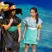 Savannah Morgan, left, and Annie Maupin perform in the Oklahoma Children's Theater summer camp production of