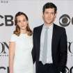 Leighton Meester, left, and Adam Brody arrive at the 68th annual Tony Awards at Radio City Music Hall on Sunday, June 8, 2014, in New York. (Photo by Charles Sykes/Invision/AP)