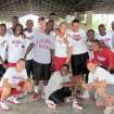 UNIVERSITY OF OKLAHOMA / WOMEN'S COLLEGE BASKETBALL TEAM / HAITI TRIP: The OU women's bsketball team trip to Haiti. Provided ORG XMIT: KOD