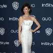 Paz Vega arrives at the 15th annual InStyle and Warner Bros. Golden Globes after party at the Beverly Hilton Hotel on Sunday, Jan. 12, 2014, in Beverly Hills, Calif. (Photo by Matt Sayles/Invision/AP)