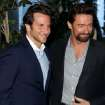 Actors Bradley Cooper, left, and Hugh Jackman pose together at the BAFTA Awards Season Tea Party at The Four Seasons Hotel on Saturday, Jan. 12, 2013, in Los Angeles. (Photo by Matt Sayles/Invision/AP)