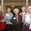 Martha Best, Touchmark at Coffee Creek's Parkview hoomeowner Liz Codding, and Grandview residents Virginia Craig, Virginia Stinson and Bea Coleman visit during a VIP reception to mark the opening of the Grandview apartments, a part of the Touchmark at Coffee Creek retirement community in north Edmond.  Community Photo By:  Richard Hail  Submitted By:  Carol, Edmond