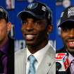 Top draft picks Blake Griffin (Clippers), Hasheem Thabeet (Memphis) and Tyreke Evans (Sacramento). AP PHOTO