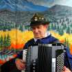 Dick Albreski of Oklahoma City plays the accordion during the 47th annual Czech Festival Saturday in Yukon. PHOTO BY HUGH SCOTT FOR THE OKLAHOMAN