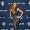 Sofia Vergara arrives at the 15th annual InStyle and Warner Bros. Golden Globes after party at the Beverly Hilton Hotel on Sunday, Jan. 12, 2014, in Beverly Hills, Calif. (Photo by Matt Sayles/Invision/AP)