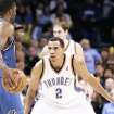 Thunder guard Thabo Sefolosha has played stellar defense this season. Photo BY HUGH SCOTT, THE OKLAHOMAN