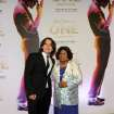 FILE - In this June 29, 2013 file photo, Prince Jackson, left, and Katherine Jackson arrive at the world premiere of