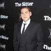 Jonah Hill poses at the premiere of his film,