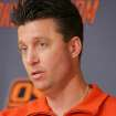 OSU coach MIke Gundy has signed a seven-year, $15.7 million contract. PHOTO BY STEVE GOOCH, THE  OKLAHOMAN.
