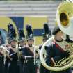 Members of Southmoore's band preform during competition at Putnam City Stadium in Oklahoma City , Okla. September 27 , 2008.  BY STEVE GOOCH, THE  OKLAHOMAN.