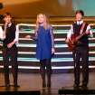 """Mickey Webster, Hannah Edmondson, and Dawson Waugh on bass perform """"Time of the Season."""" during the Edmond Memorial Follies Saturday Jan. 25, 2014. Photo by M. Tim Blake, for The Oklahoman"""