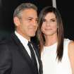 "Actors George Clooney and Sandra Bullock attend the premiere of ""Gravity"" at the AMC Lincoln Square Theaters on Tuesday, Oct. 1, 2013, in New York. (Photo by Evan Agostini/Invision/AP) ORG XMIT: NYEA113"