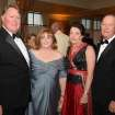 Jim and Cindy Hazelwood, Nancy and Joe Warren were at the President's Ball at the OCG&CC, Jim Hazelwood is the new president and he and his wife, Cindy, were honorees. (Photo by David Faytinger).