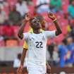 Ghana's Mubarak Wakaso reacts after scoring against Mali during their African Cup of Nations Group B soccer match in Port Elizabeth, South Africa, Thursday, Jan. 24, 2013. (AP Photo/Schalk van Zuydam)
