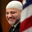 Imad Enchassi, Imam and president of the Islamic Society of Greater Oklahoma City.  Muslim community leaders and representatives of the Oklahoma chapter of the Council on American-Islamic Relations discuss a new national public service announcement that features Muslim first reponders after the attack on the Twin Towers in New York City in 2001. Photo taken Sep. 3, 2010. by Jim Beckel, The Oklahoman