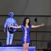 katy perry blue latex \