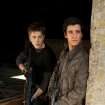 "From left, Connor Jessup and Drew Roy in ""Falling Skies"" - TNT Photos"