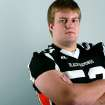 All-State Team player Garrett Gladd, of Sallisaw, poses at the OPUBCO studios in Oklahoma City on Monday, Dec. 13, 2010. Photo by John Clanton, The Oklahoman