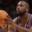 OKLAHOMA CITY THUNDER NBA BASKETBALL: Phoenix Suns center Shaquille O'Neal shoots a free throw during the Thunder - Suns game December 29, 2008 in Oklahoma City.    BY HUGH SCOTT, THE OKLAHOMAN ORG XMIT: KOD