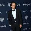 Orlando Bloom arrives at the 15th annual InStyle and Warner Bros. Golden Globes after party at the Beverly Hilton Hotel on Sunday, Jan. 12, 2014, in Beverly Hills, Calif. (Photo by Matt Sayles/Invision/AP)